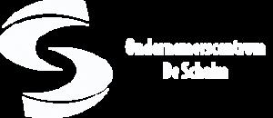 Logo Ondernemerscentrum de Schalm wit