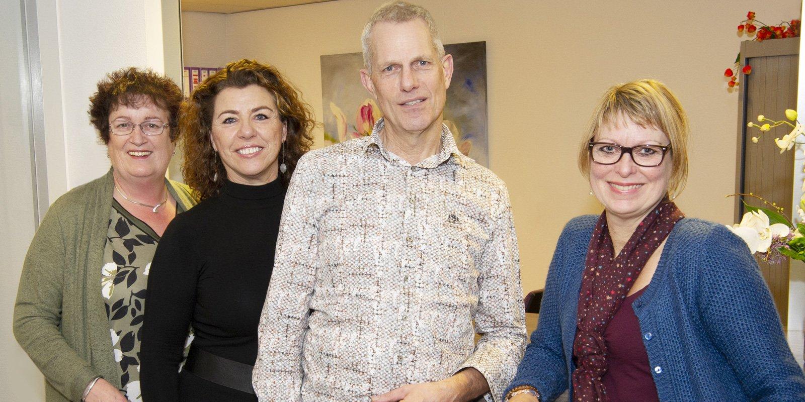 Het team van Ondernemerscentrum de Schalm